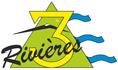 Camping les Trois Rivères à Entrechaux, dans le Vaucluse Logo